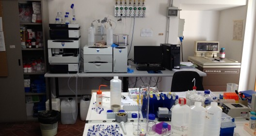 IBAF Chromatogragraphy lab
