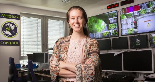 Jess Marie Bunchek - NASA Plant Scientist, Credit Andreas Caspari